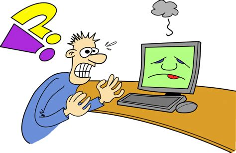 clipart computer user frustrated clip free clipart panda free clipart images
