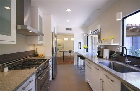 Narrow Galley Kitchen Design Ideas Narrow Kitchen Design Pictures Remodel Decor And Ideas Page 13 Kitchen Pinterest