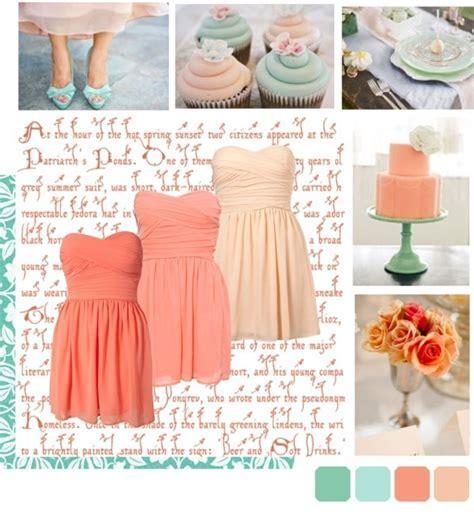 Best 25  Teal Peach Wedding ideas on Pinterest