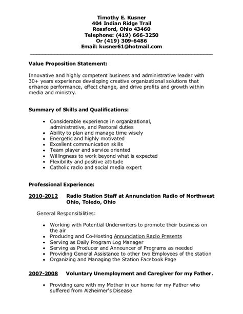 Resume 1 5 Pages by Resume1 1 5 Page