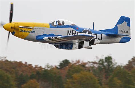 world war ii mustang fighter plane world war ii p 51 mustang fighter aircraft editorial image