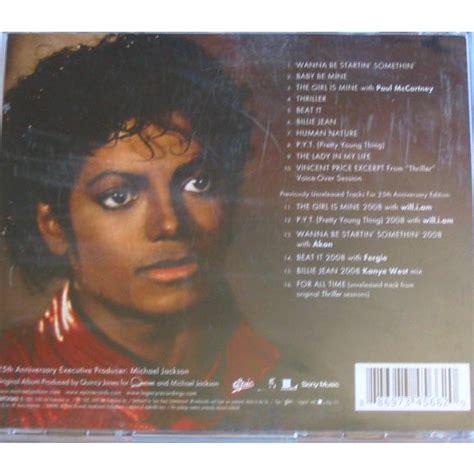 michael jackson thriller album biography thriller 25 the world s biggest selling album by michael