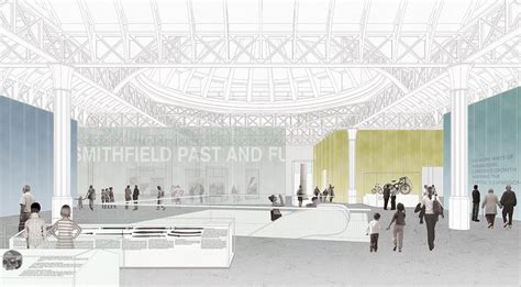 design competition london west smithfield design competition proposals e architect