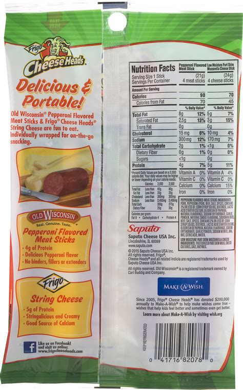 frigo light string cheese cheese heads string cheese nutrition facts mloovi blog