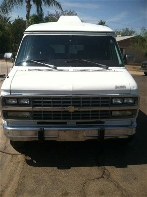 how cars engines work 1993 chevrolet sportvan g20 seat position control purchase used 1993 chevrolet g20 sportvan extended passenger van 3 door 5 0l in phoenix arizona