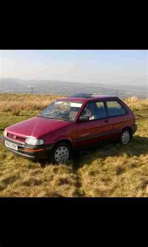 how petrol cars work 1992 subaru justy parental controls subaru 1992 justy sl 4wd red car for sale