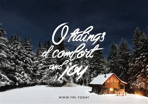 oh tidings of comfort and joy post a card of hope ymi