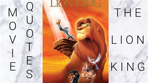 film lion king youtube the lion king movie quotes youtube