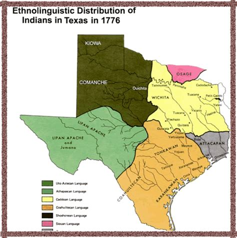 american tribes in texas map texas map american tribes