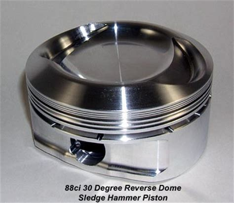 Piston Forged Brt54 5 Mm Pin 13 hammer performance 1250 kits 88ci and 90ci big bore