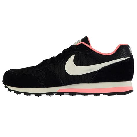 Nike Md Runner Favorite nike md runner 2 trainers womens black white pink sneakers