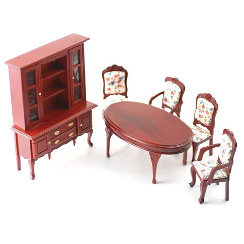 df268 1 12 scale dolls house furniture dining room set