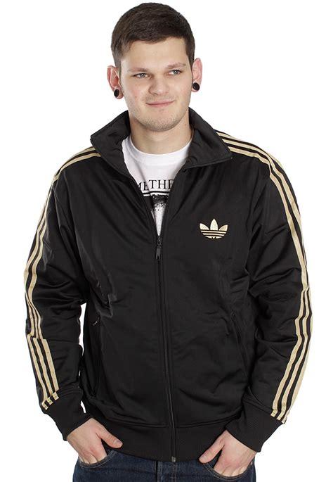 Jaket Adidas Firebird 3 adidas firebird black metallic gold track jacket