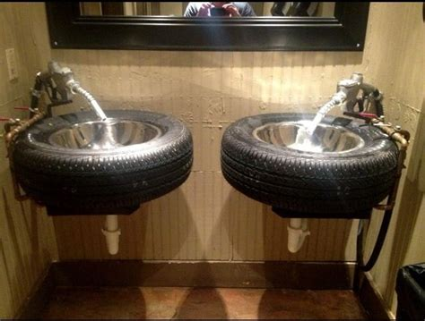 man cave bathroom accessories ultimate man cave or garage sink man cave pinterest