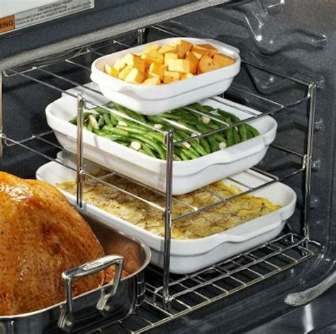 3 Tier Oven Rack by Oven Companion 3 Tier Oven Rack Kitchen Gadget Box