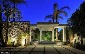 Beverly hills mansion while their 21million estate is refurbished