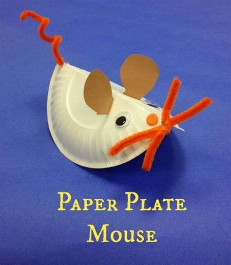Mouse Paper Craft - 1000 images about pre school on paper plates
