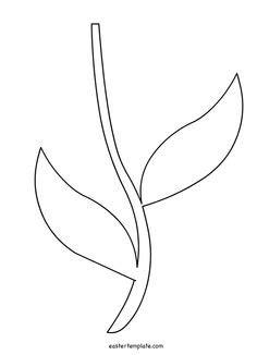 flower stem template printable flower stem template pre k