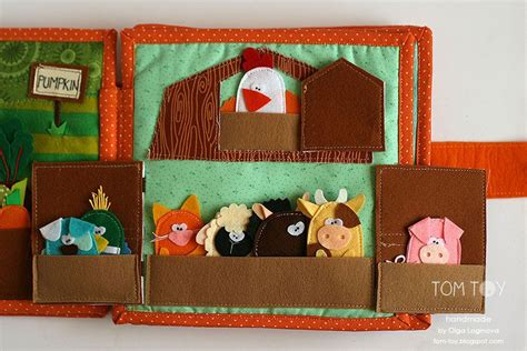 barn pattern for quiet book handmade cloth quiet busy book for sergio finger puppets
