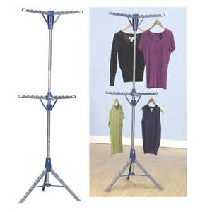 Tripod Portable Clothes Dryer Household Essentials Tripod Freestanding 2 Tier Hanger