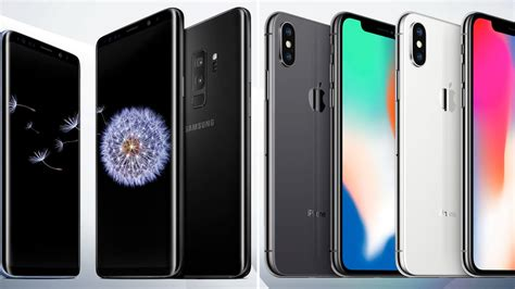 samsung    iphone     compare