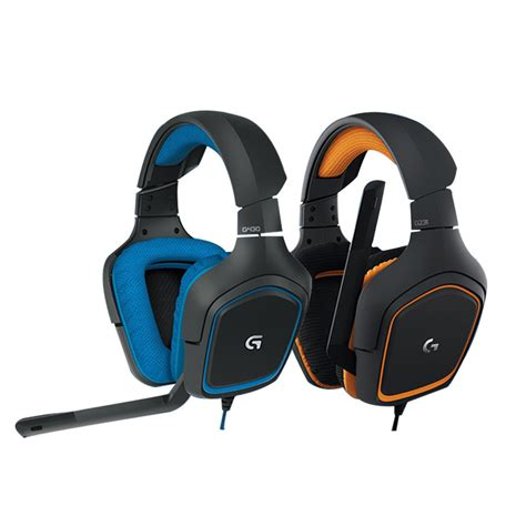 Headset Logitech G231 New Arrival Headband 7 1 Channel With Stick Out Microphone