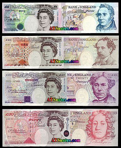 printable paper money uk banknote great britain and catalog on pinterest