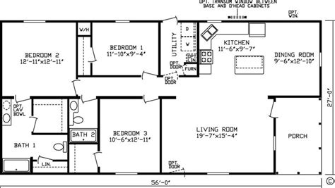 20 X 60 Homes Floor Plans Google Search Small House 20 X House Plans
