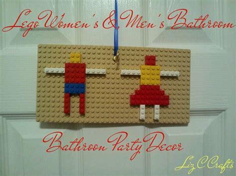 Lego bathroom party decor lego party decor lego storage amp fun ideas pinterest lego