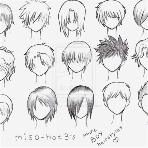clever haircut names bob hairstyles creative anime boys hairstyles image and