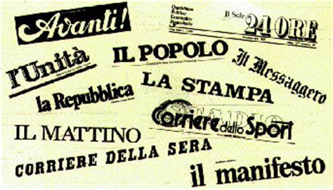 testate dei giornali testate dei quotidiani italiani pi 249 venduti a malara