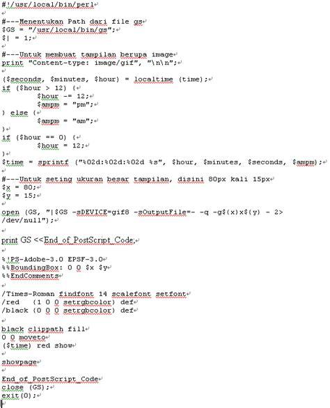 membuat jam digital php mari membuat jam digital dengan perl omjojo s weblog