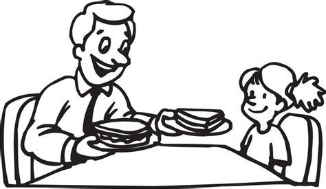 Free Coloring Pages Manners Coloring Home