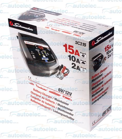 battery chargers cycle schumacher 2 10 15 smart battery charger agm