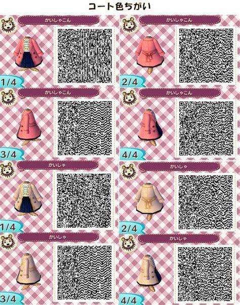 clothing themes animal crossing new leaf qr code clothes animal crossing new leaf pinterest