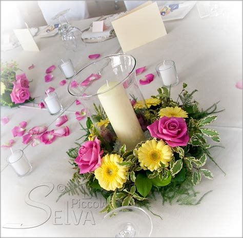 table arrangements table arrangements with candles and flowers pictures