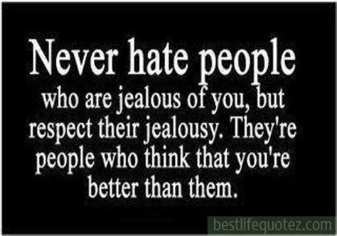Jealousy Quotes Quotes About Haters And Jealousy Quotesgram