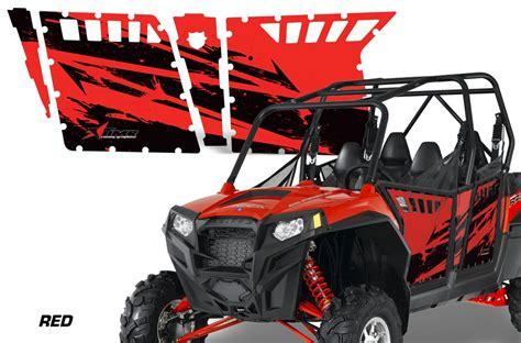 polaris home design inc amr racing door graphics kit for polaris rzr4 900 900xp