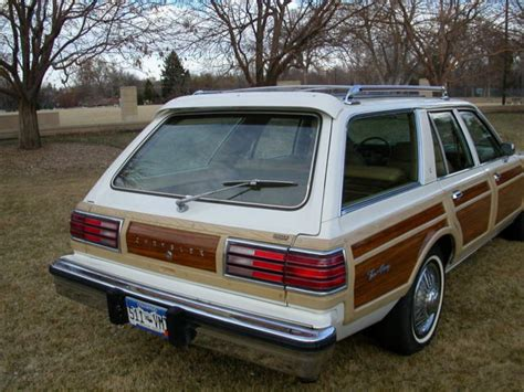 Does United Charge For Luggage 1981 chrysler town amp country station wagon mopar for sale