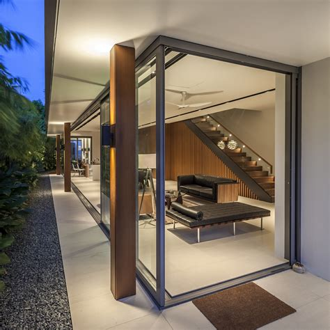 House Plans With A View gallery of sunny side house wallflower architecture