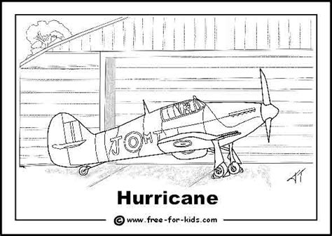 Free Coloring Pages Of Ww2 Spitfire Plane World War 2 Colouring Pages