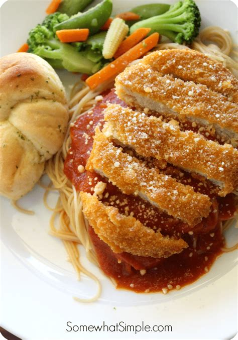 easy chicken parmesan recipe somewhat simple
