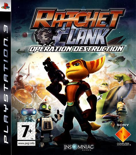 Ratchet Clank In Time Ps3 Reg 1 ratchet clank op 233 ration sur playstation 3 jeuxvideo
