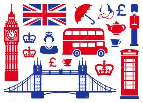 icons on a theme of england stock photo 169 klava 11165729
