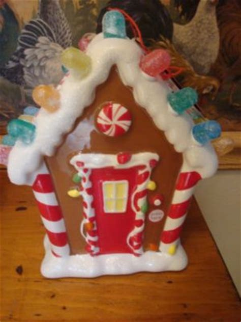 musical gingerbread house hallmark 2008 lighted musical quot gingerbread house quot new antique price guide details page