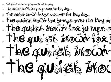 imagenes locas para dibujar letras locas fuente fantas 237 a dibujos animados fuentes