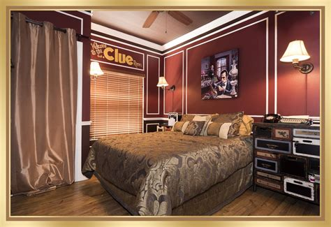 clue escape room game bedroom   great