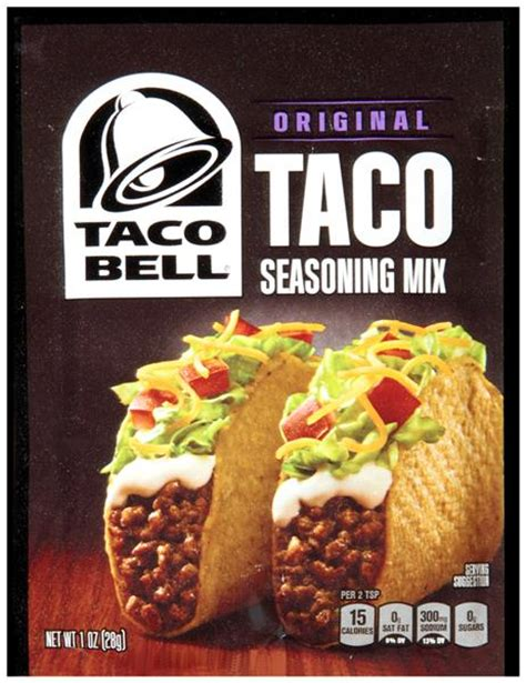 Buy Taco Bell E Gift Card - taco bell original taco seasoning mix hy vee aisles online grocery shopping