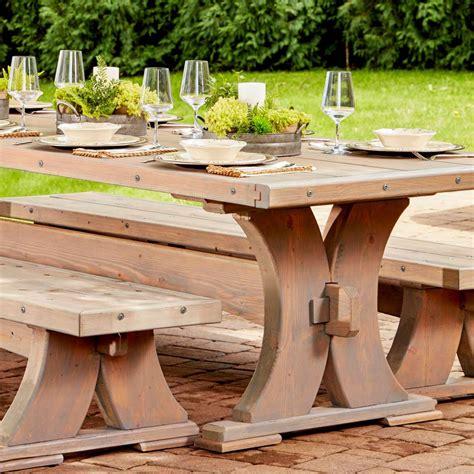 built   viking long table  family handyman