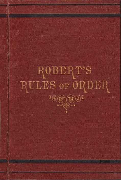 printable version of robert s rules of order robert s rules of order wikiwand